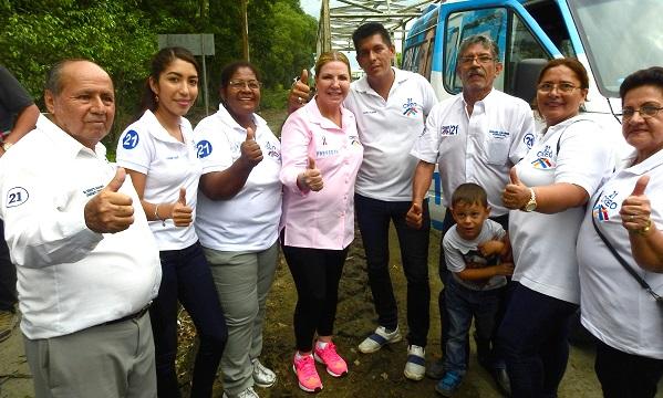 Desde Marcelino Maridueña continua el trabajo por la transformación del Guayas