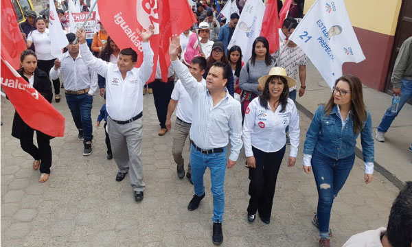 Desde Azuay continúa el trabajo por el cambio para la Prefectura de Esteban Bernal