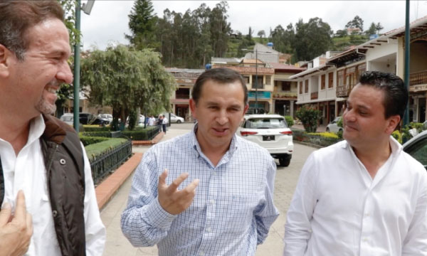 Chordeleg busca un modelo de crecimiento económico de la mano de Patricio López