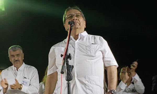 En Macará Alfredo Suquilanda presenta su propuesta de cambio ciudadano