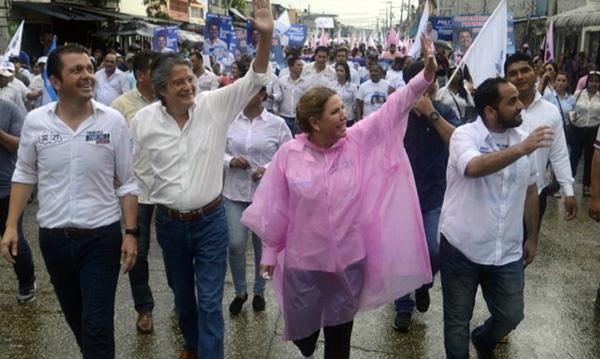 La gira nacional de CREO cierra la semana en Guayaquil apoyando a los candidatos de la provincia