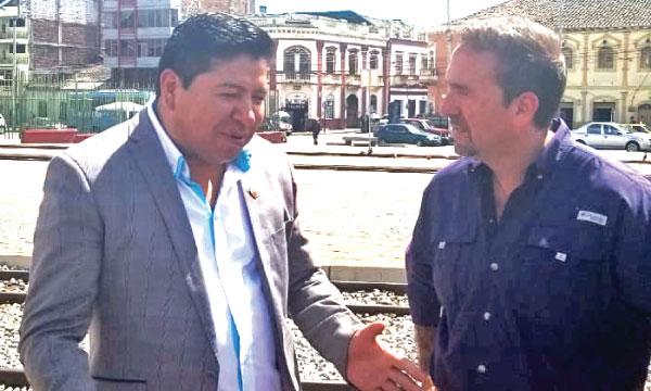 José Luis Díaz presenta a Riobamba un plan de desarrollo y oportunidades