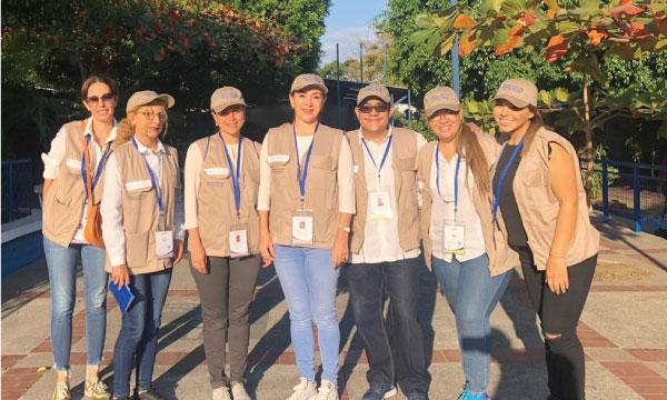 Movimiento CREO participa como observador de las Elecciones Presidenciales en El Salvador