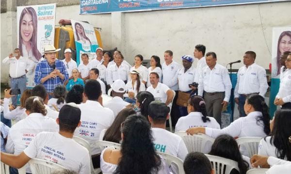 Lasso llega a La Concordia para consolidar la Alcaldía de Natividad Suárez
