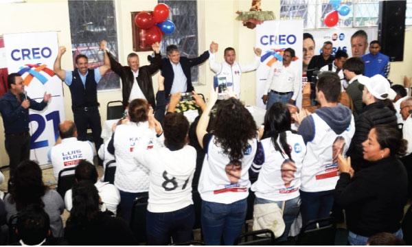 Lasso llegó a Gualaceo para impulsar la victoria del próximo alcalde Rodrigo Vásquez