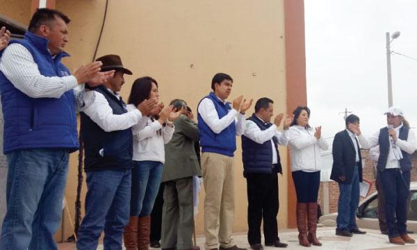 Desde Guano Raúl Cabrera recibe el apoyo para asumir la nueva alcaldía del cantón