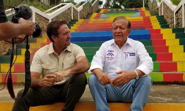 Recuperar los atractivos del cantón propone Enrique González