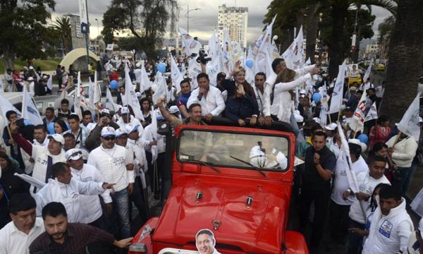 Lasso, Paco Fierro y José Luis Díaz impulsan el cambio junto a los ciudadanos de Chimborazo