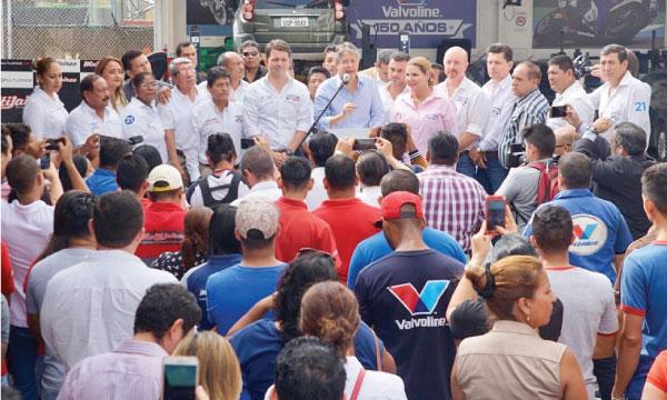 En Guayaquil Lasso ratifica la lucha de CREO por el desarrollo y empleo de los ecuatorianos