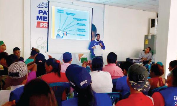 En la Provincia de Los Ríos continúa la tarea de capacitación electoral frente a las seccionales