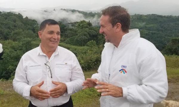 Marco Calle propone la reactivación económica en San Miguel de los Bancos