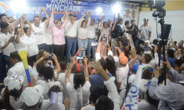 Minchala, Poly y Lasso impulsan el cambio productivo para el nuevo Milagro