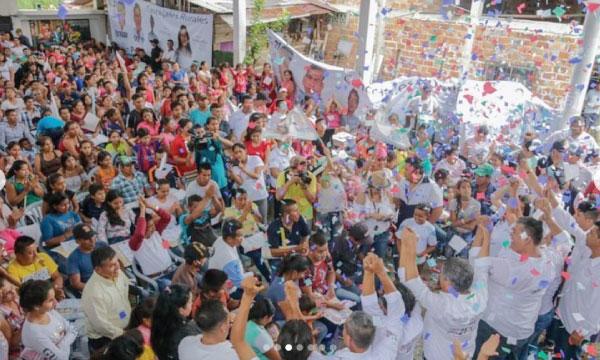 En Paján Jhonny Nieto consolida el apoyo ciudadano para la próxima alcaldía del cantón