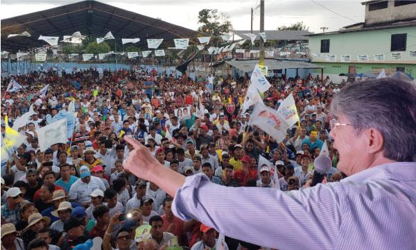 Lasso llega a Quevedo para apoyar la Prefectura del Cholo Mendoza y la alcaldía de Marco Cortés
