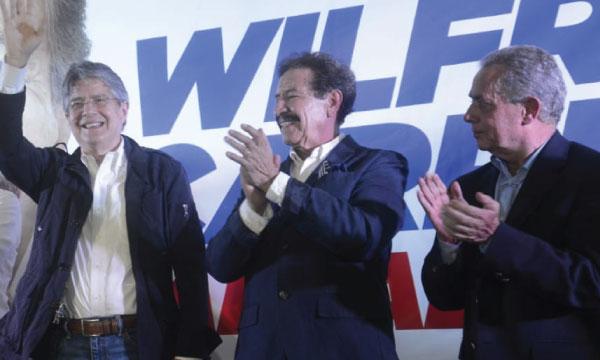 Lasso llega a Rumiñahui  para apoyar el cambio junto al próximo alcalde, Wilfrido Carrera