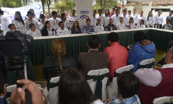 En Salcedo Lasso habla  sobre la  urgencia de un verdadero cambio en Ecuador