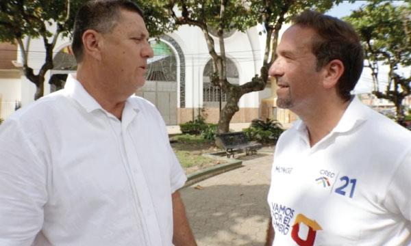 Walter Cevallos busca terminar con 19 años de continuismo en Bolívar (Calceta)