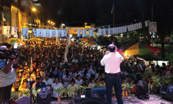 Desde Echeandía CREO consolida su presencia electoral en Bolívar