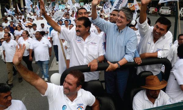 Lasso recorre La Troncal apoyando al próximo Alcalde y Prefecto de Cañar