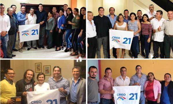 CREO recorre la provincia de Loja y trabaja con las autoridades electas