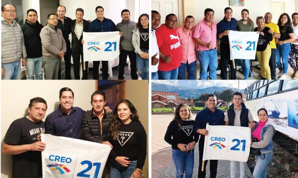 CREO recorre la provincia de Cañar y trabaja con las autoridades electas