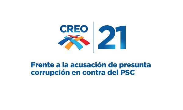 Frente a la acusación de presunta corrupción en contra del PSC