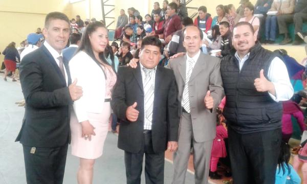 CREO recorre el Ecuador y llega a Bolívar en apoyo a sus autoridades seccionales