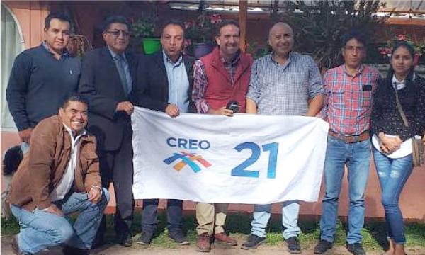 En el cantón Espejo CREO trabaja con su Alcalde y concejales con miras al 2021