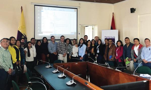 Proceso de capacitación de autoridades electas de CREO continúa en Loja
