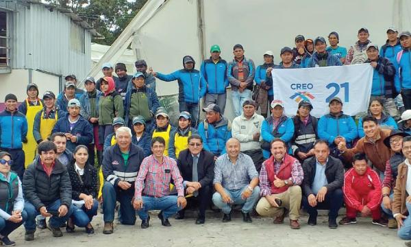 Movimiento CREO recorre Carchi trabajando con sus autoridades seccionales electas