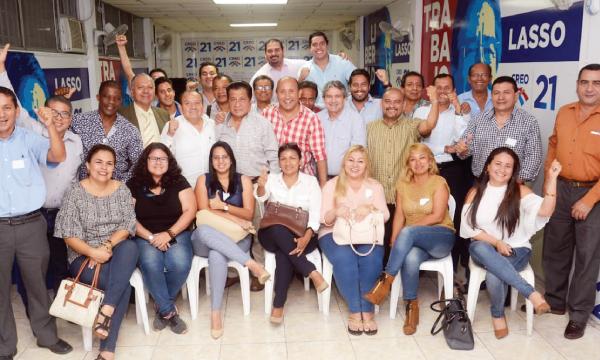 CREO realizó taller de planificación y fortalecimiento territorial en Guayaquil