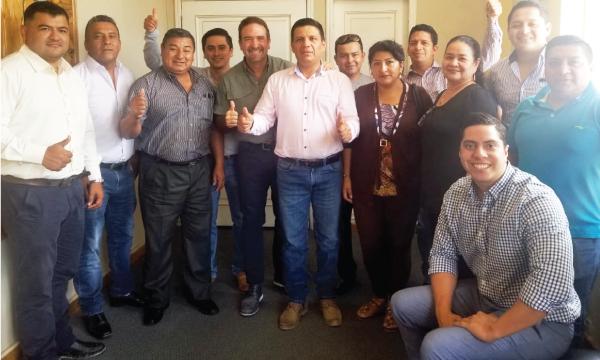 En el cantón Zamora CREO trabaja con su alcalde y concejales con miras al 2021