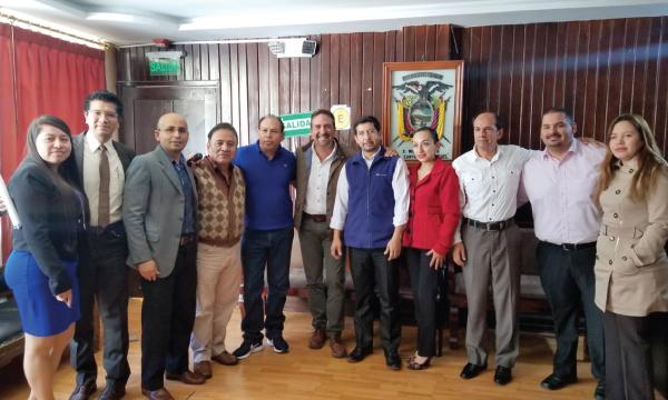 CREO continúa su recorrido territorial desde el Cantón San Miguel con las autoridades seccionales