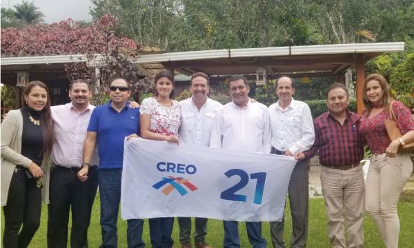 Desde el cantón Caluma CREO continúa su trabajo con las autoridades de Bolívar