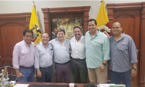 CREO continúa su trabajo territorial recorriendo y trabajando en 5 Cantones de El Oro