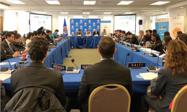 Presidente de Jóvenes CREO Pichincha es seleccionado al diálogo de Jóvenes en la OEA