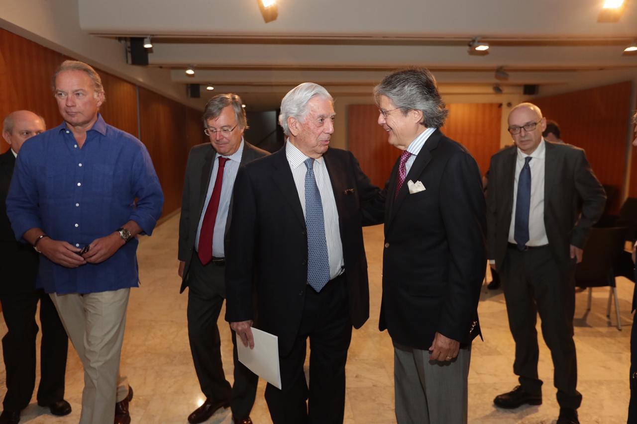 Guillermo Lasso expone su visión de unidad iberoamericana por la defensa de los DDHH