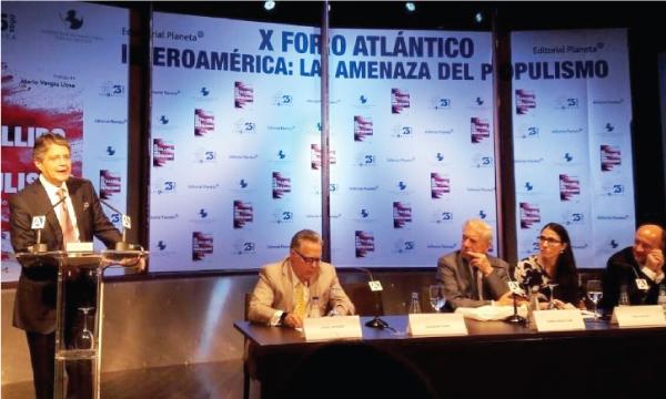 Lasso asiste a foro internacional que busca delinear el futuro para el desarrollo de Iberoamérica