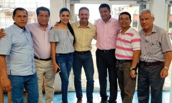 Desde Los Ríos continúan los recorridos nacionales con las autoridades electas