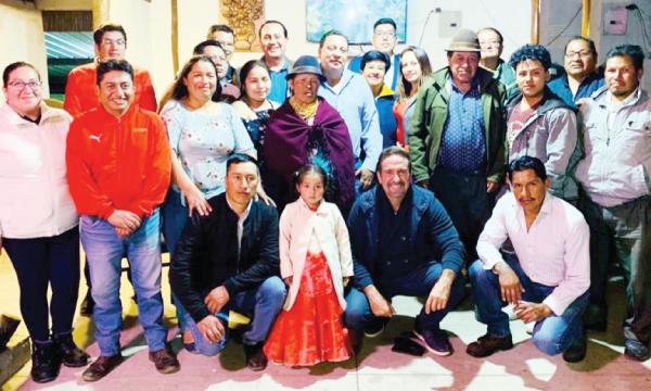 En Pedro Moncayo continúa el trabajo territorial de CREO con las autoridades electas