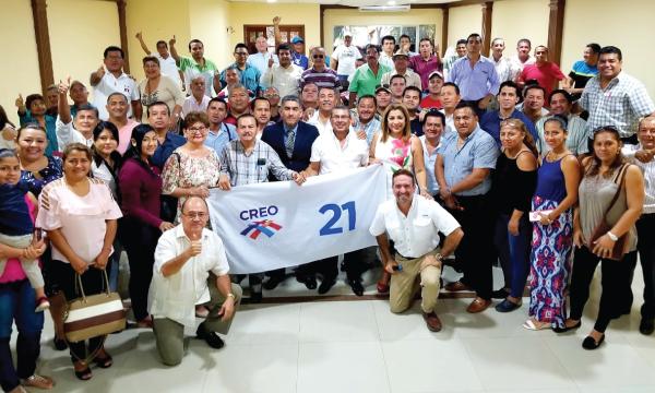 Desde Portoviejo se fortalece la estructura cantonal de CREO frente al 2021