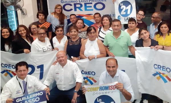 CREO Europa posesiona a su nueva Directiva Territorial de Milán y continúa su trabajo territorial