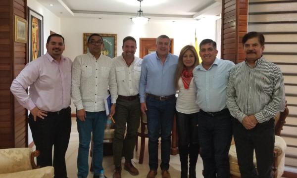 Desde Pallatanga continúa el trabajo territorial con las autoridades seccionales de Chimborazo
