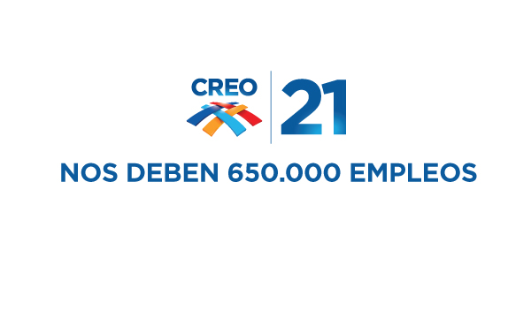 NOS DEBEN 650.000 EMPLEOS