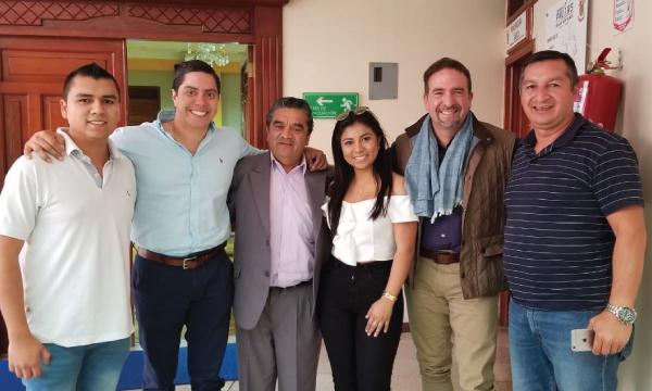 Gira Nacional de CREO continúa desde Loja junto con las autoridades seccionales electas