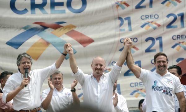 En Guayas el Movimiento CREO posesiona a su nuevo Presidente Provincial