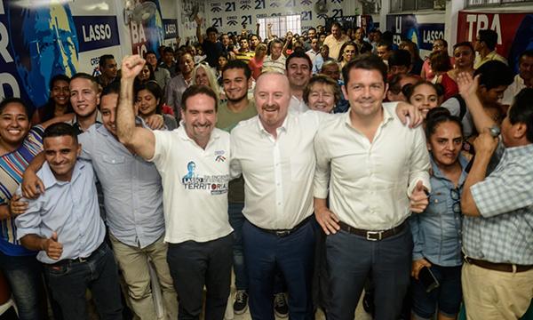 CREO Guayas fortalece su proceso de trabajo político con miras al 2021