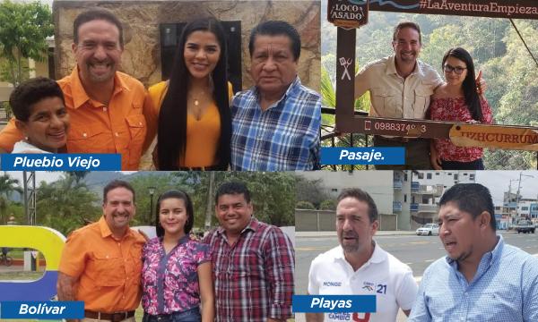 CREO continúa su recorrido de trabajo con las Jóvenes autoridades de la Costa