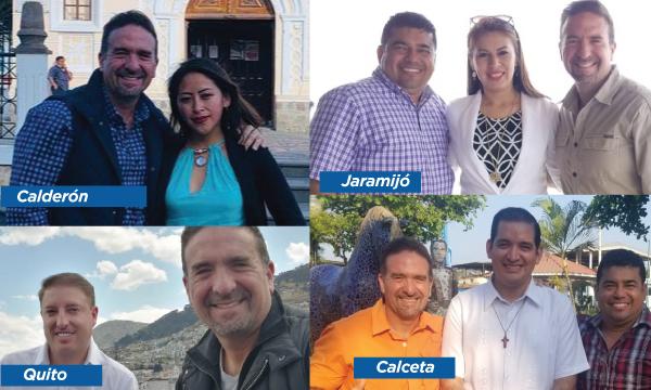 CREO recorre Pichincha y Manabí dentro de su trabajo con las jóvenes autoridades