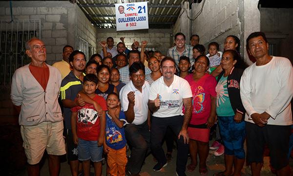 Desde la Isla Trinitaria continúa la formación de Comités Barriales en Guayaquil